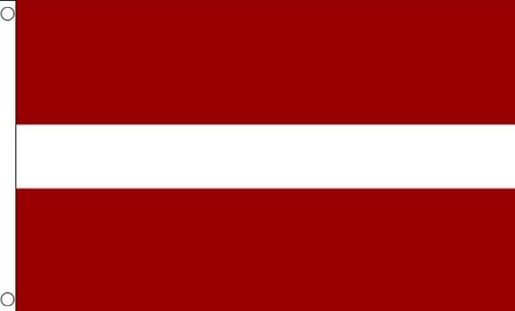 Letse vlag Letland vlaggen 90x150cm Best Value