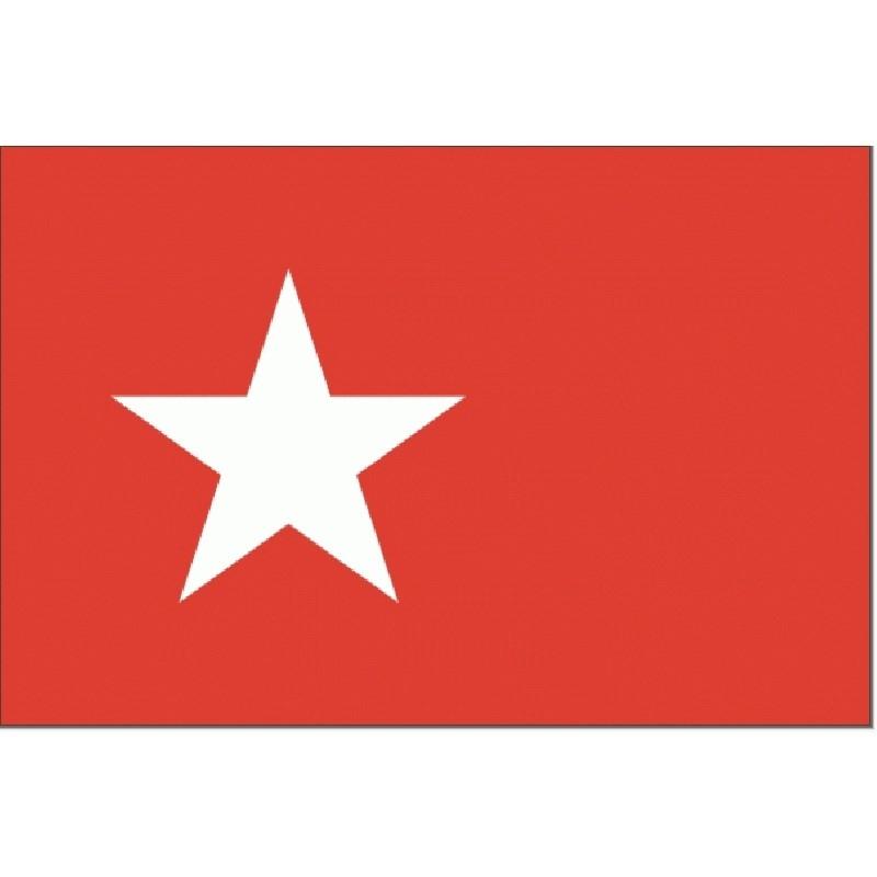 Vlag Maastricht 30x45cm