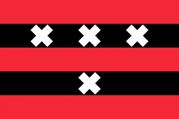 Grote vlag Amstelveen
