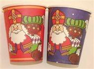 Sinterklaas wegwerp bekers