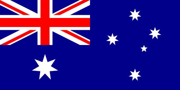 Australische vlag | Australië vlaggen 30x45cm gastenvlag