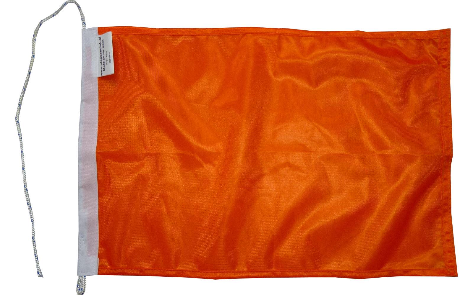 Oranje vlag rechthoekig 150x225cm