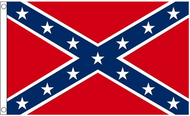 Confederate vlag 150x240cm amerika