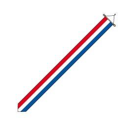 Wimpel Nederland 25x300cm met stok