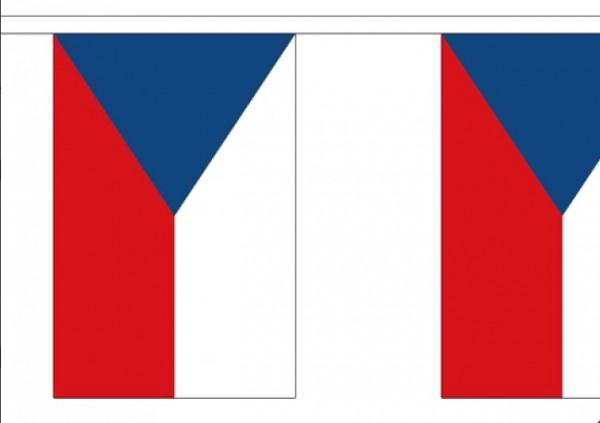 Tsjechische vlaggenlijnen Tsjechië 3m
