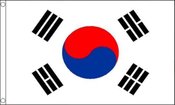vlag Zuid-Korea 150x240cm Best Value