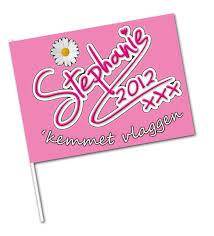 Zwaaivlaggetjes 11x22cm papier MC coated voordelig te bedrukken door Vlaggenclub met uw reclame of logo