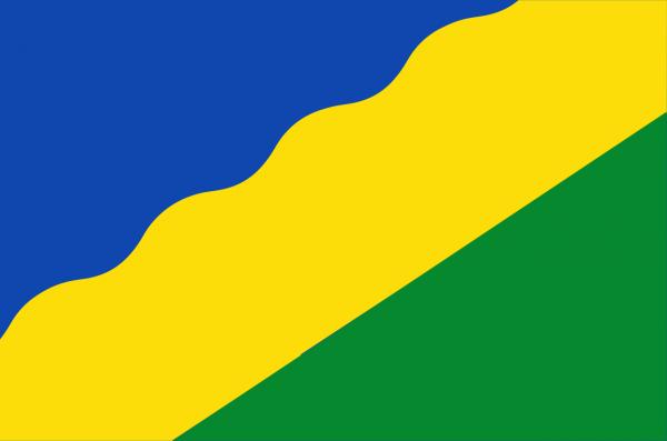 Grote vlag Waadhoeke