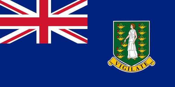 vlag Britse Maagdeneilanden | Britse Maagdeneilanden vlaggen 150x225cm