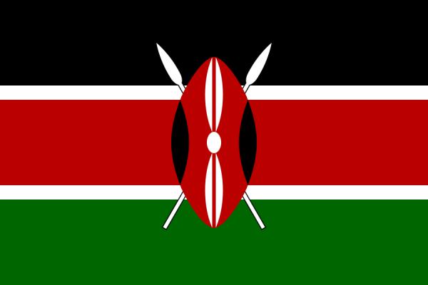 vlag Kenia, Keniaaanse vlaggen 100x150cm