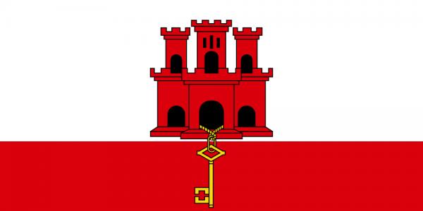vlag Gibraltar | Gibraltarese vlaggen 100x150cm