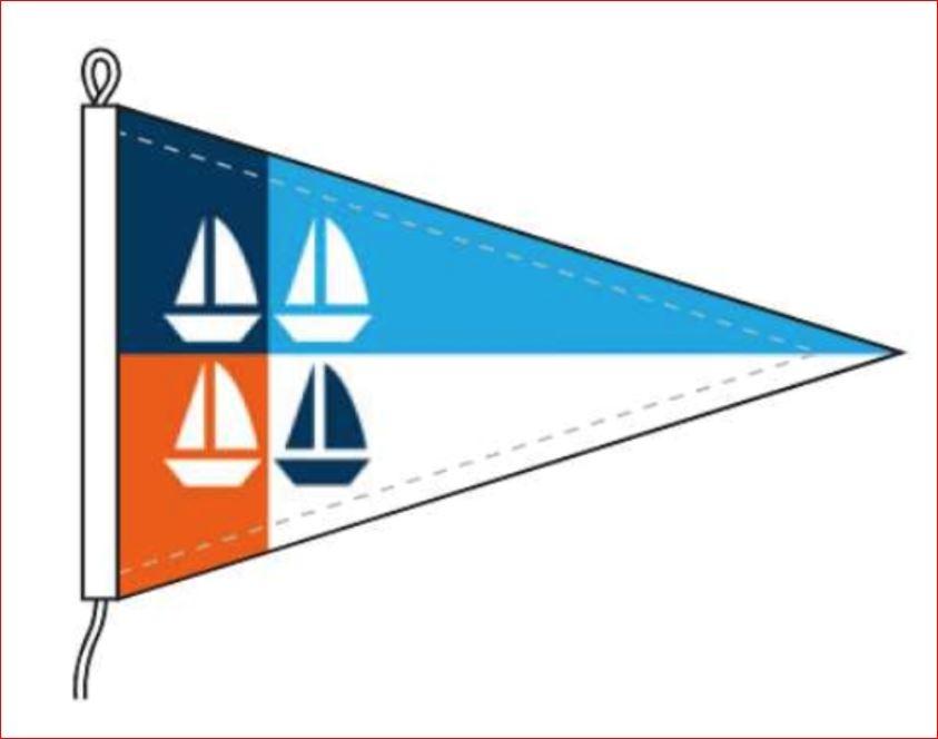 Zeilen voor Zeilers wimpel vlag kopen