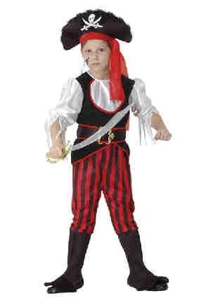 Piraten kleding piraat jongen 4 tot 6 jaar