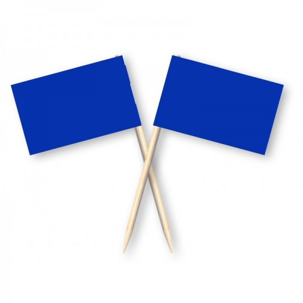 cocktailprikkers blauw 50 stuks kaasprikkers en partyprikkers