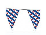Vlaggenlijn met Friese vlaggen wimpellijn 10m