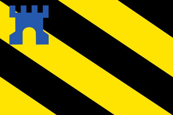 Vlag Medemblik 50x75cm bootvlag