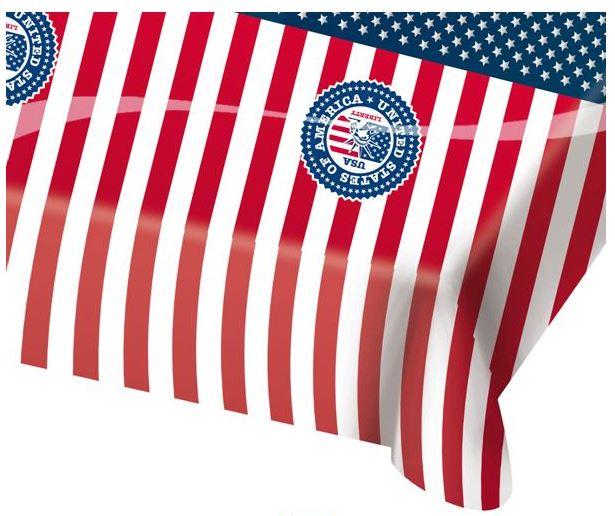 Tafelkleed Amerika/USA 130x180cm