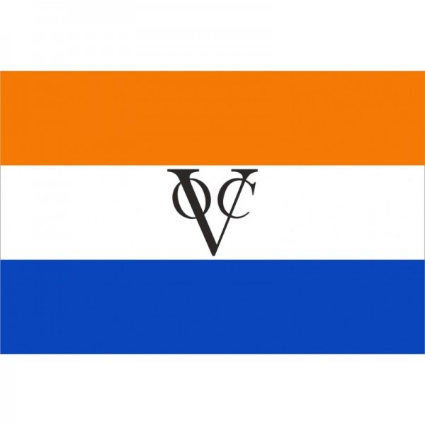 VOC vlag Verenigde Oost Indische Compagnie 100x150cm Oranje variant