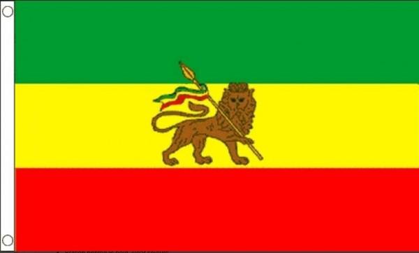 Vlag Ethiopië met Leeuw 60x90cm