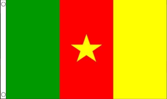 vlag Kameroen, Kameroenese vlaggen 90x150cm Best Value