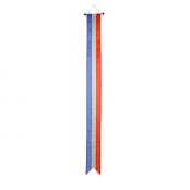 Wimpel Nederland 30x400cm met koord en lusje en met zwaluwstaart