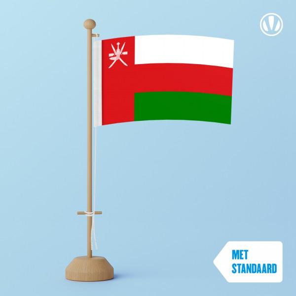 Tafelvlag Oman met standaard