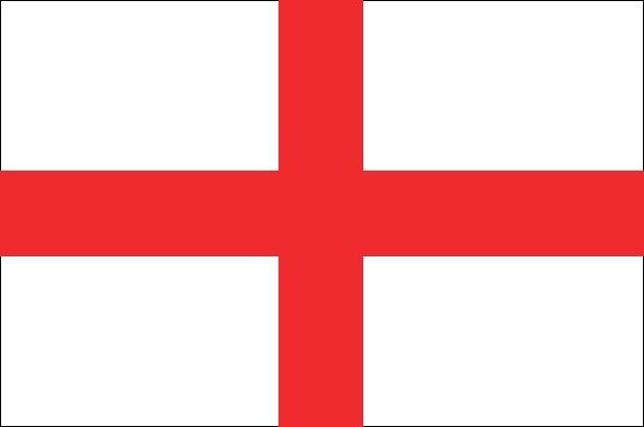 Engelse vlag vlaggen Engeland gastenlandvlag 50x75cm