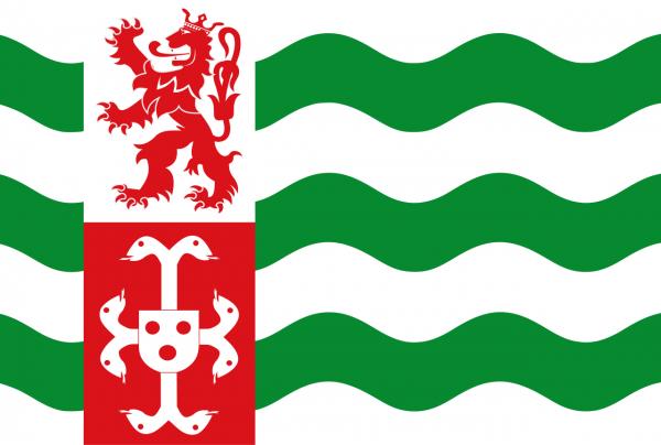 Grote vlag Beekdaelen