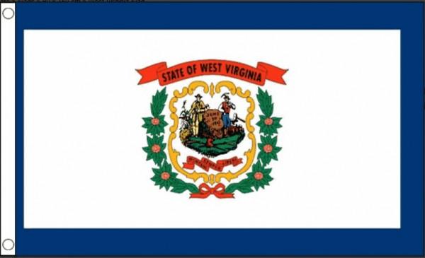 Vlag West Virginia