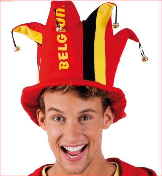 Supporters Hoed Belgie voor EK WK en steun de Rode Duivels