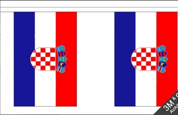 Vlaggenlijnen Kroatië 3m