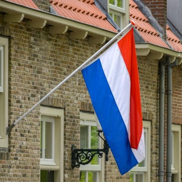 Pakket Nederlandse vlag met stok