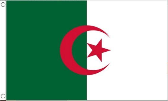 vlag Algerije Algerijnse vlaggen 90x150cm Best Value