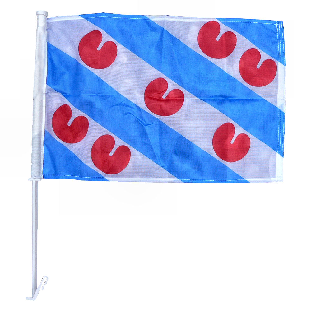 Autovlag Friesland luxe Friese autovlaggen