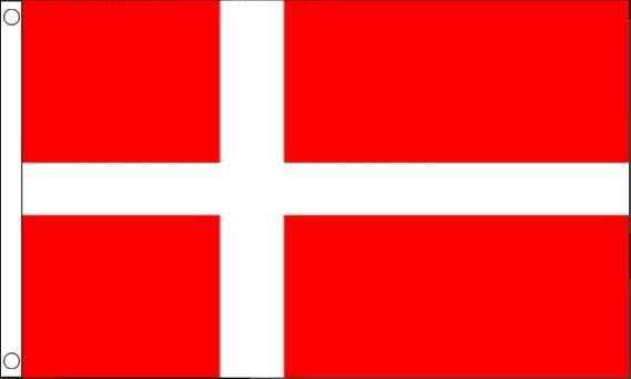 Deense vlag Denemarken 150 x 240 cm Best Value