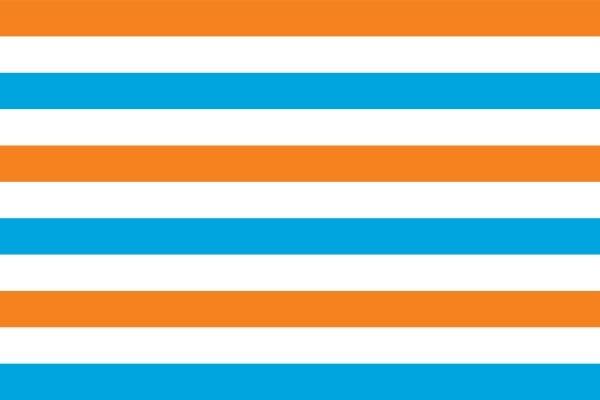 Prinsenvlag 150x225cm Oranje variant Admiraalsvlag