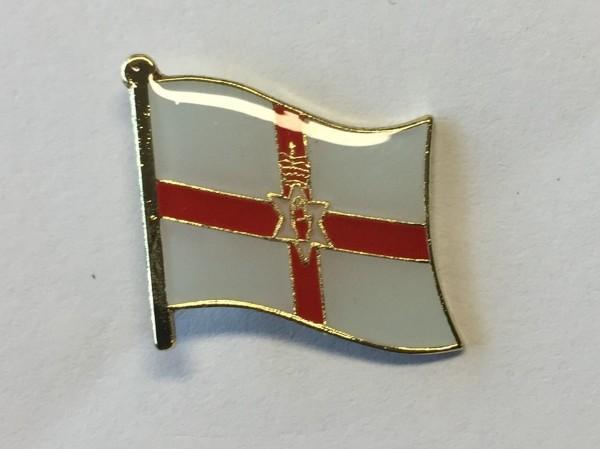 Broche / Speldje Noord-Ierse vlag