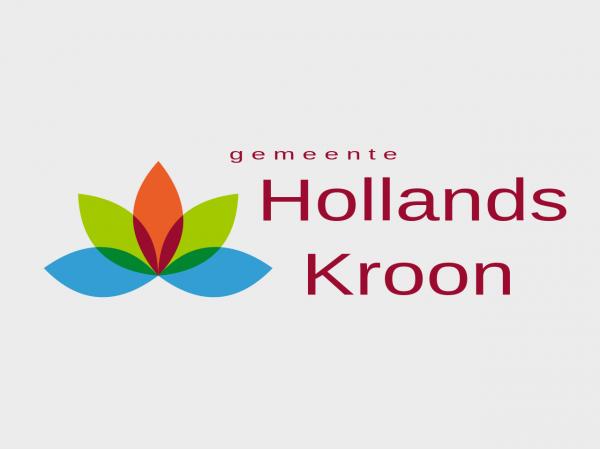 Grote vlag Hollands Kroon