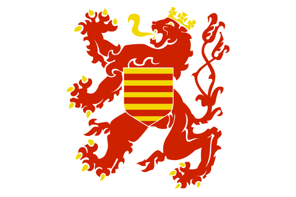 Vlag Belgisch Limburg 30x45cm