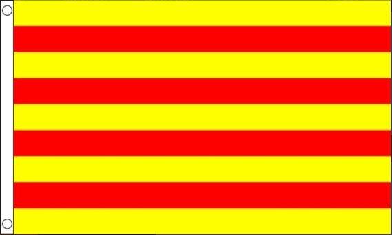 vlag Catalonië 90x150cm Best Value