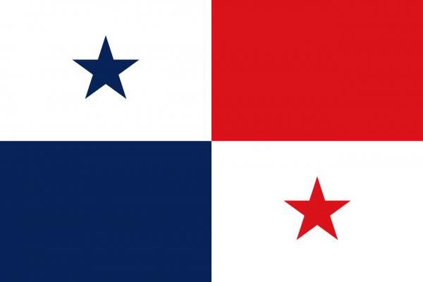 Vlag Panama 100x150cm Glanspoly