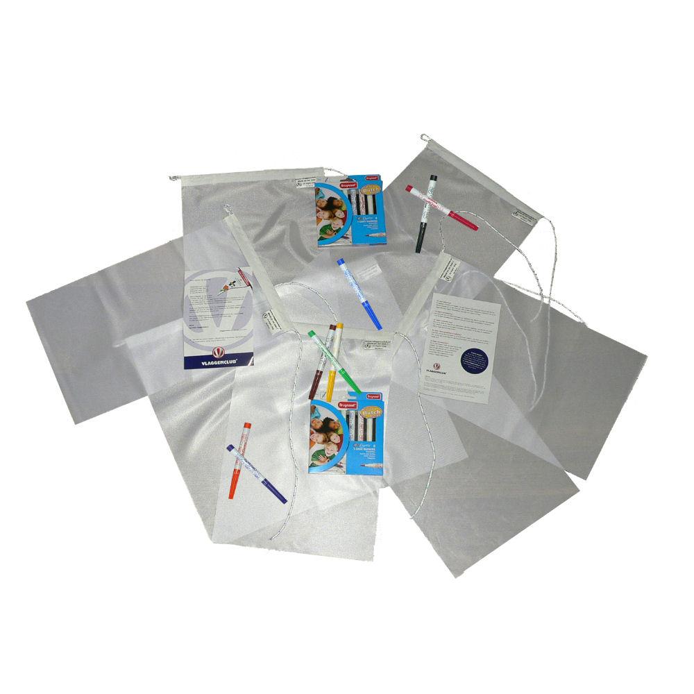 Vlaggenclub verjaardags pakket vlaggen