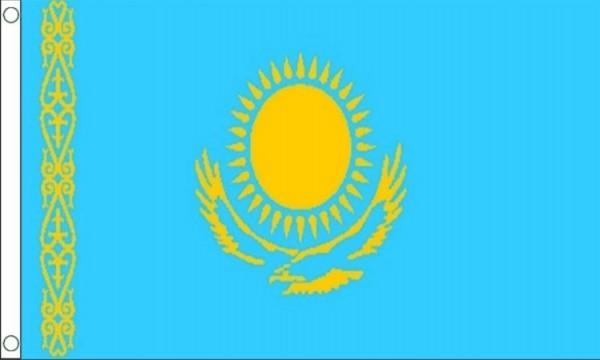 Vlag Kazachstan Kazachstaanse vlaggen 150x240cm Best Value
