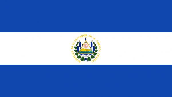 Tafelvlaggen El Salvador 10x15cm | El Salvadoraanse tafelvlag