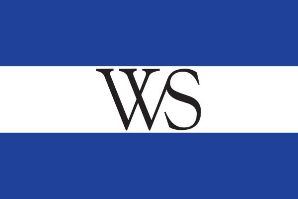 Vlag gemeente Weesp 100x150cm Weesper vlaggen