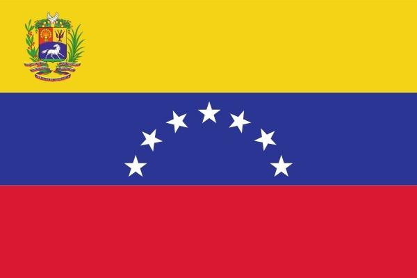 vlag Venezuela met wapen 100x150cm