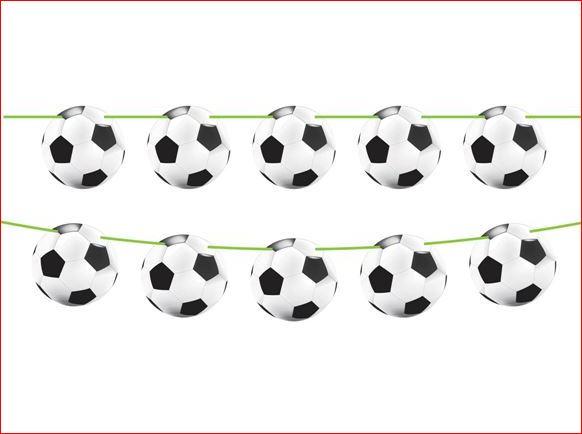 Vlaggenlijn Voetbal 10 meter WK   EK