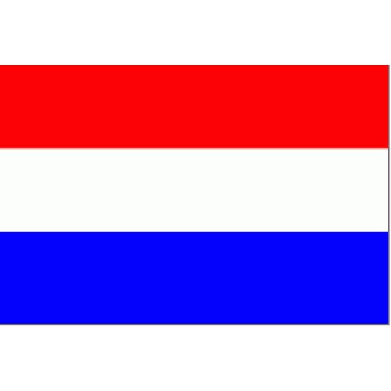 Nederlandse vlag 30x45cm