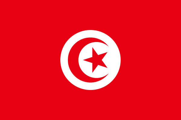vlag Tunesië   Tunesische vlaggen 50x75cm