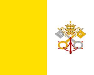 Vaticaanse vlag 150x225cm